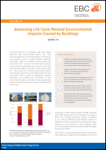 Factsheet: Assessing Life Cycle Related Environmental Impacts Caused by Buildings